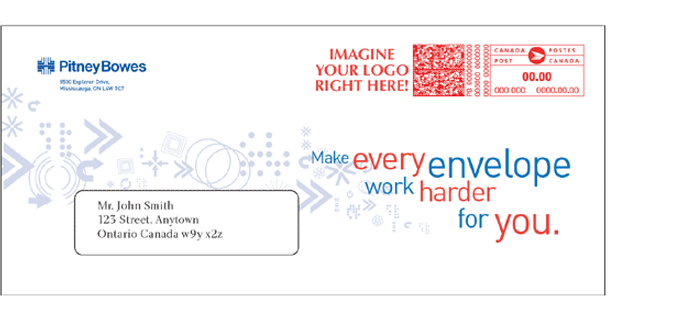 Pitney Bowes Canada Envelope Ads