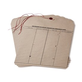 Interdepartment Envelopes - 32lb Natural Kraft with Button and String Closure